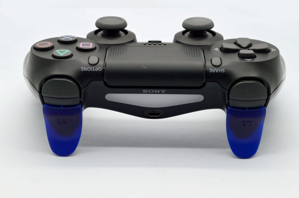 Blue PS4 Trigger Extensions